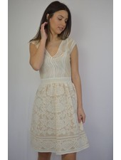 M MISSONI WHITE ABITO DRESS