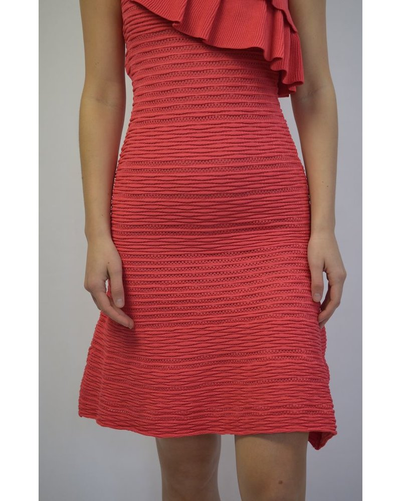 REBECCA VALLANCE CHIARA KNIT DRESS