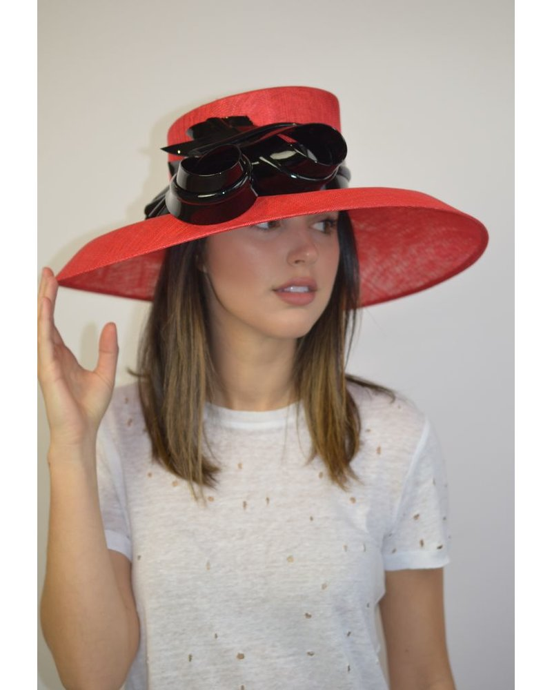 1f701989f05a4a Philip Treacy Georgia Hat - The Peacock Boutique