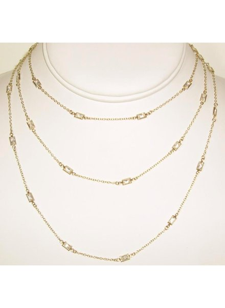 "SOPHIA & CHLOE 36"" LONG CHAIN NECKLACE"