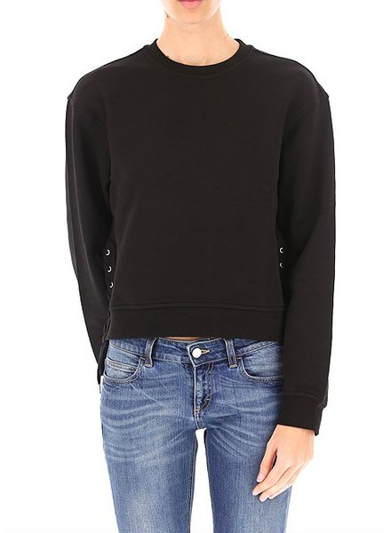 MCQ LACE UP SWEATSHIRT