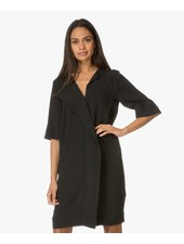BY MALENE BIRGER BLACK SHIFT DRESS