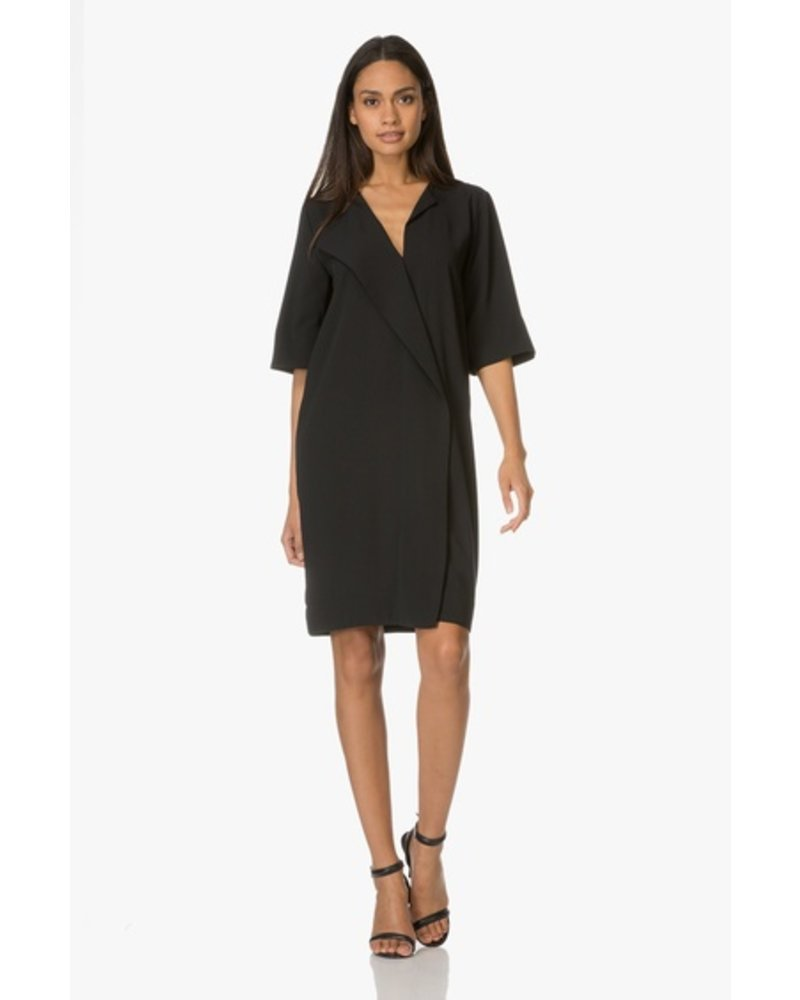 BY MALENE BIRGER BLACK SHIFT DRESS