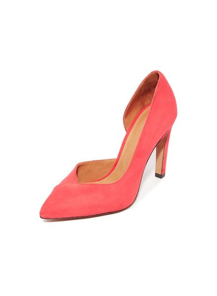 IRO CORAL RED HEEL