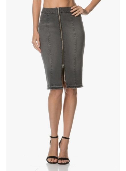 BY MALENE BIRGER BLACK DENIM SKIRT