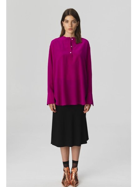 BY MALENE BIRGER BURGUNDY BLOUSE