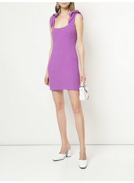 REBECCA VALLANCE DAHLIA MINI DRESS IRIS ORCHID