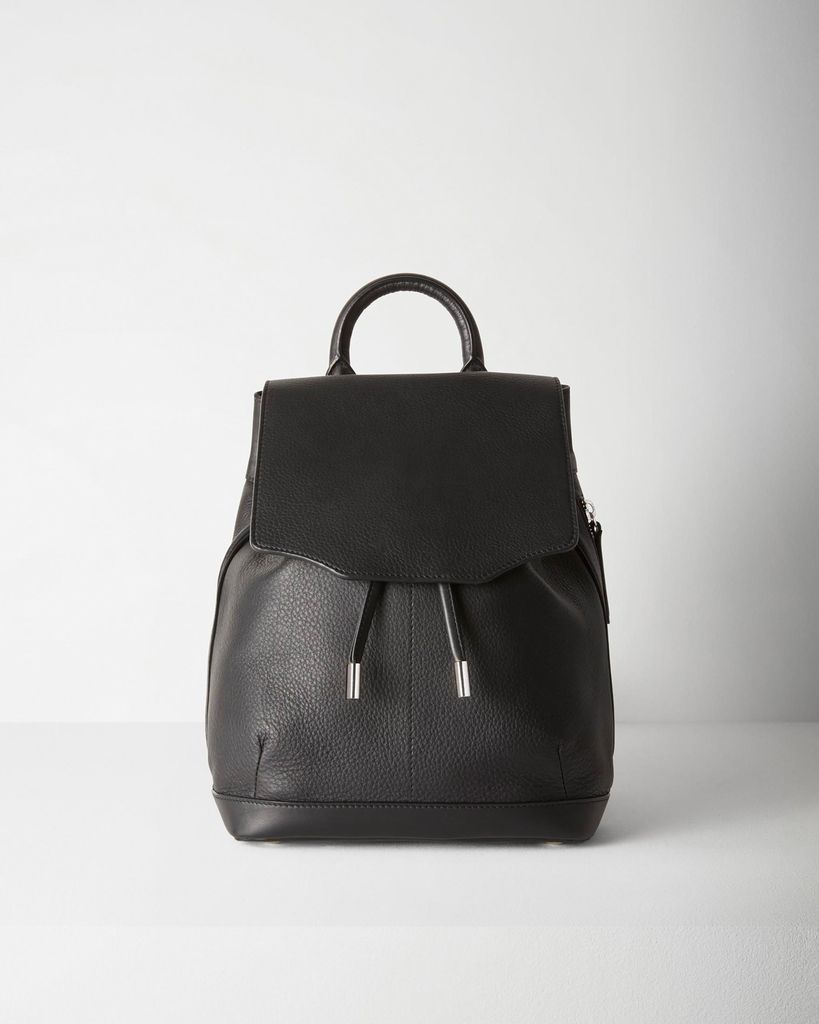 ce291a9668 RAG   BONE PILOT BLACK MINI BACKPACK - The Peacock Boutique