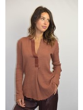 RAQUEL ALLEGRA HENLEY IN TERRACOTTA