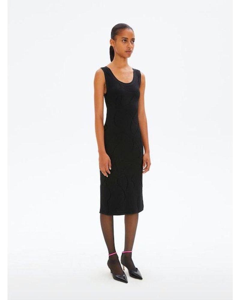 HELMUT LANG JACQUARD DRESS