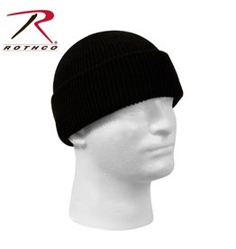 ROTHCO Genuine G.I. Wool Watch Cap Black