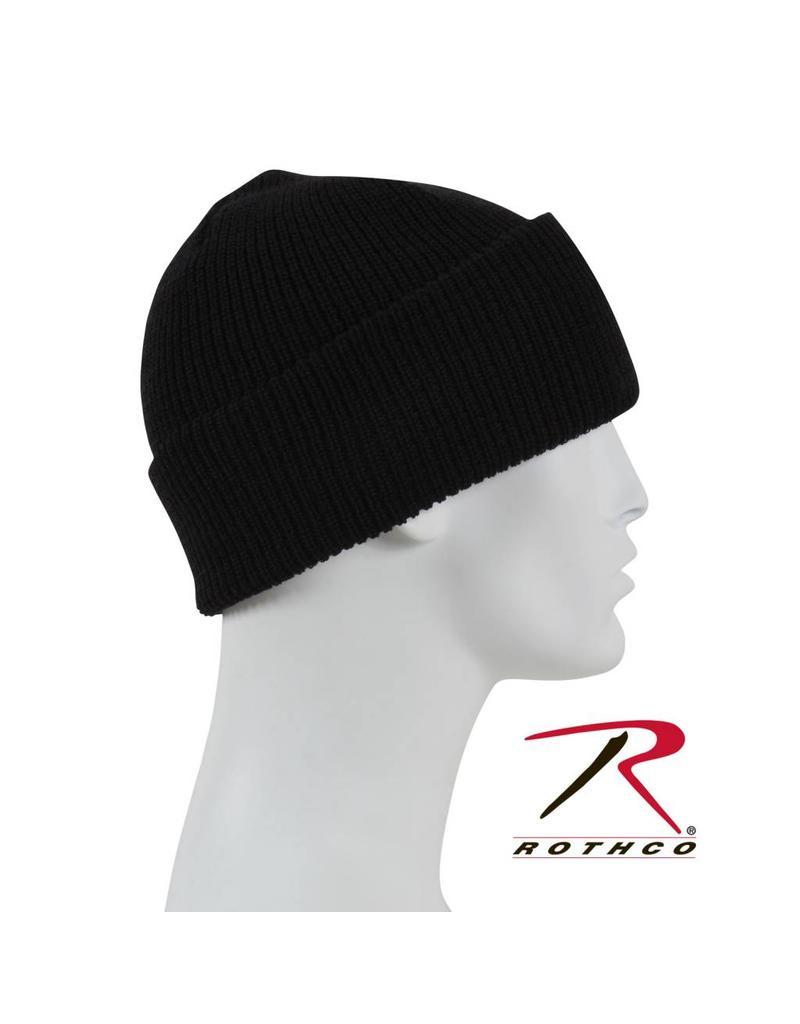 ROTHCO Genuine G.I. Wool Watch Cap Black