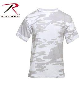 ROTHCO T-Shirt Rothco Camo Blanc