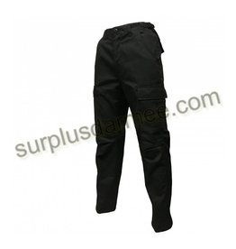 SGS SGS Cargo Pants Black Military Style