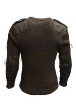 MILCOT Wool Sweater100% Military Style Olive