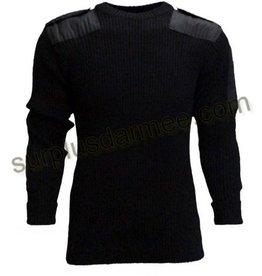 SGS Chandail De Laine 100% Style Militaire