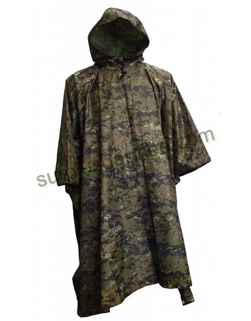 SGS Poncho Cadpat Woodland Olive SGS