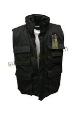 MILCOT Veste Ranger Sans Manches Noir
