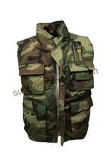 SGS Woodland SGS Sleeveless Ranger Jacket