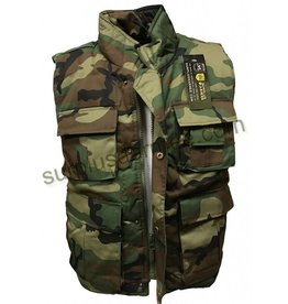 SGS Woodland SGS Sleeveless Ranger Jacket