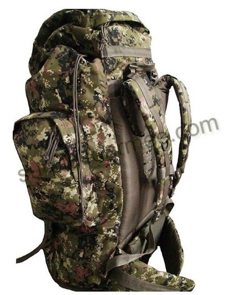 SGS Sac A Dos 80 Litre Cadpat Style Canadien Militaire SGS