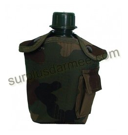 SGS Gourde Military Style Woodland Camo SGS