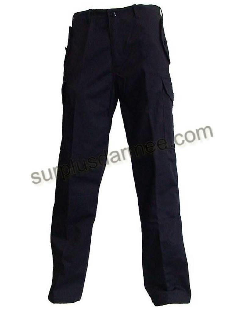 MILCOT Pantalon Cargo Canadien Noir