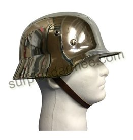 MILCOT Imported German Chrome Helmet