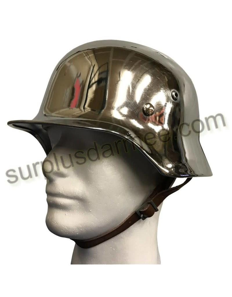 SGS Imported German Chrome Helmet