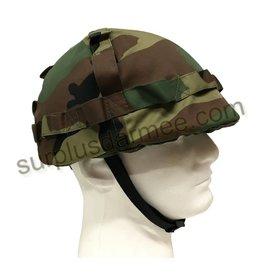 SGS Casque Militaire Woodland Plastique Importé