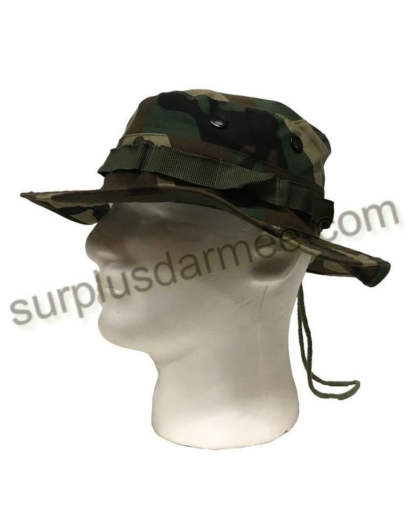 SGS Boonie Hat Camouflage Woodland SGS
