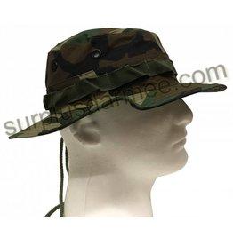 MILCOT Boonie Hat Camouflage Woodland