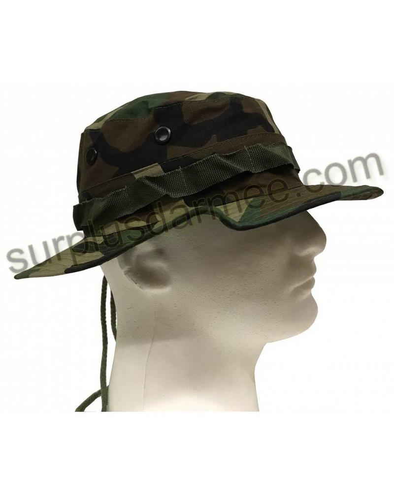 Boonie Hat Camouflage Woodland SGS - Army Supply Store Military 7880e6c4dc57
