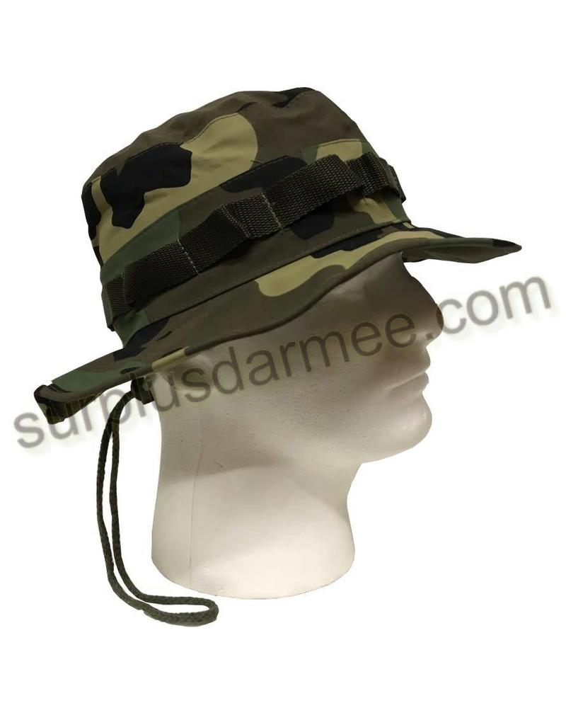 SGS Boonie Hat Raincoat Olive or Woodland SGS