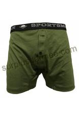 SPORTSMAN Boxer Sportsman Olive army Wide Underwear