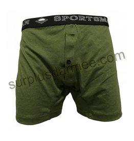 SPORTSMAN Boxer Sportsman Olive Wide Underwear