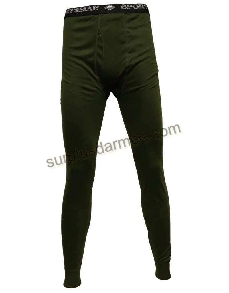 SPORTSMAN Sous-Vêtement Sportsman Olive Militaire Bas