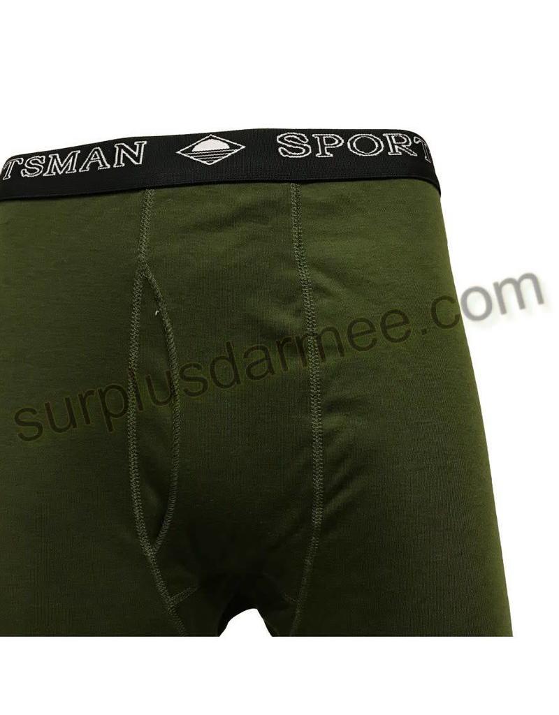 SPORTSMAN Sous-Vêtement Bas Sportsman 50-50 Olive Militaire