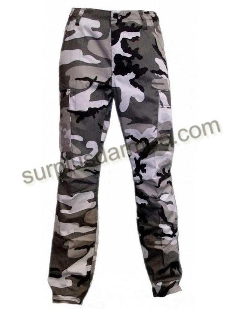 MILCOT Pantalon Style Militaire Urbain