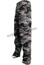 MILCOT Pantalon  Style Militaire Urbain Nuit