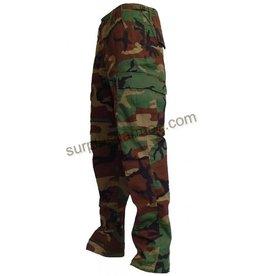 MILCOT Pantalon Camouflage Woodland