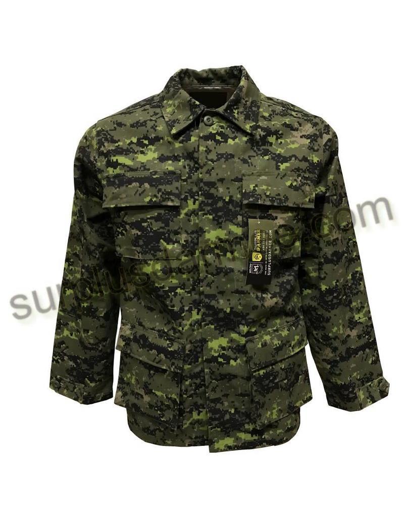 SGS BDU Cadpat Military Style Shirt