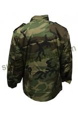 SGS Woodland Camo M-65 Lined Jacket