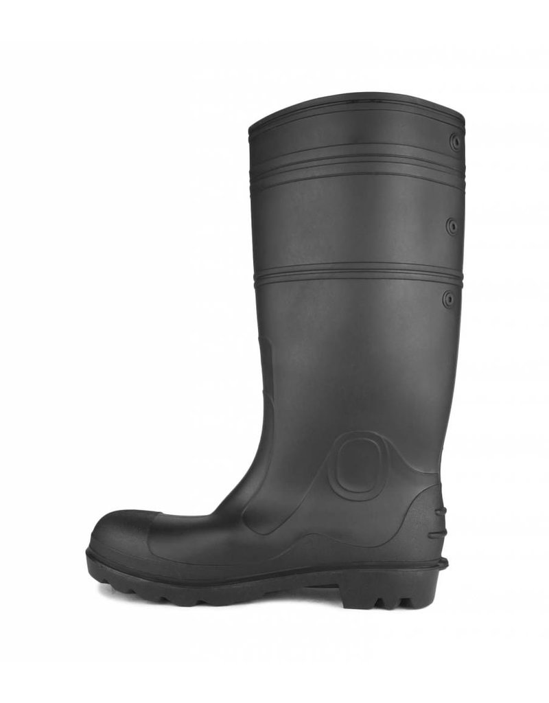 ACTON Botte Impermeable PVC Semelle et Cap  Acton