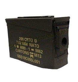 MILCOT Boite Munition Militaire Petite 7.62 Usagée