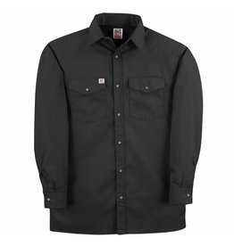 BIG-BILL Big Bill Work Shirt M-Long Black