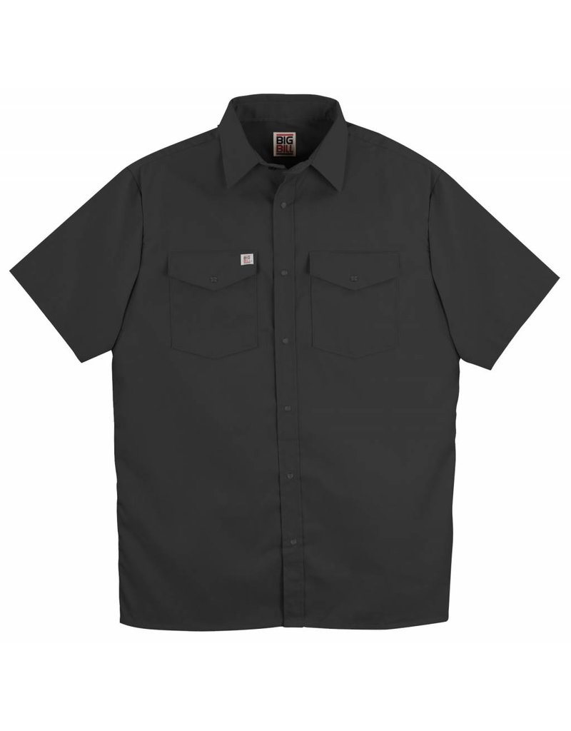 BIG-BILL Big Bill Work Shirt M-Short Black 237