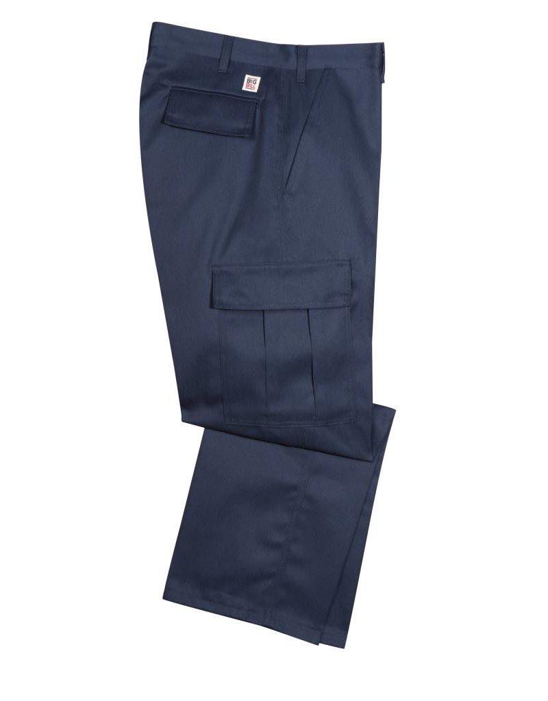 BIG-BILL Pantalon Big Bill Cargo de Travail Navy