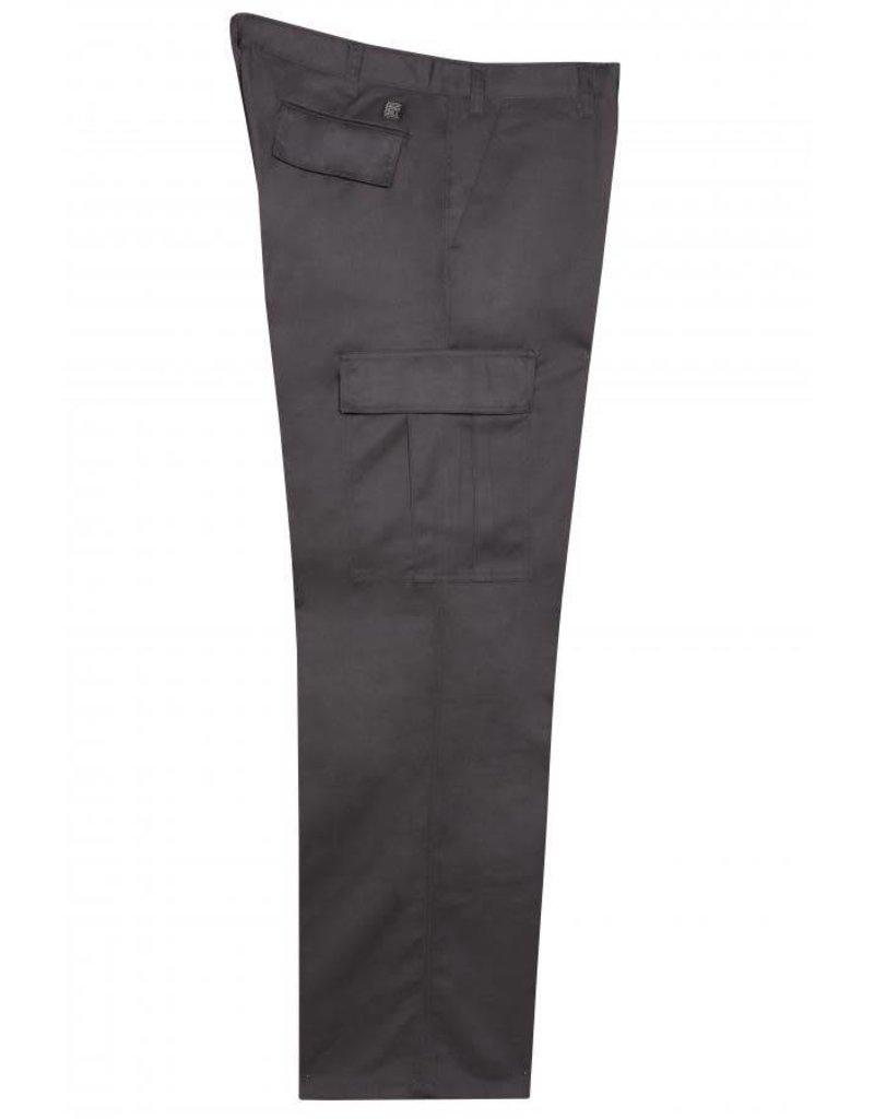 BIG-BILL Pantalon Big Bill Cargo de Travail Noir
