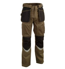 COFRA PANTALON TRAVAIL COFRA BRICKLAYER MULTI POCHE TAUPE